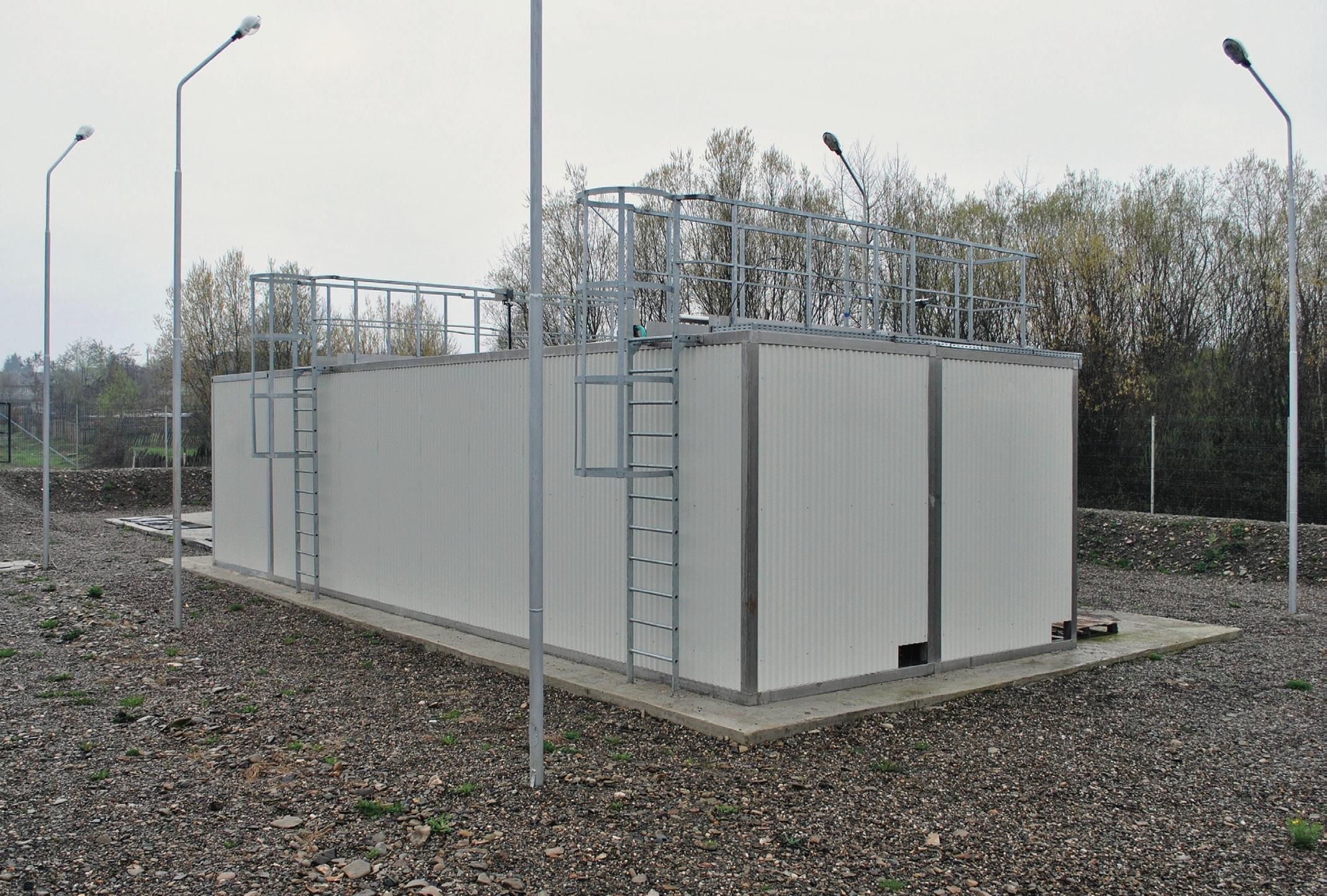 Stație compactă containerizată ADIPUR®